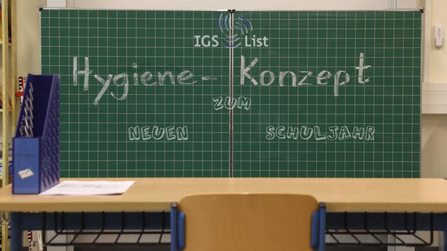 – Neue Hygieneregeln – für den Unterricht, die Pausen und die Mensazeiten
