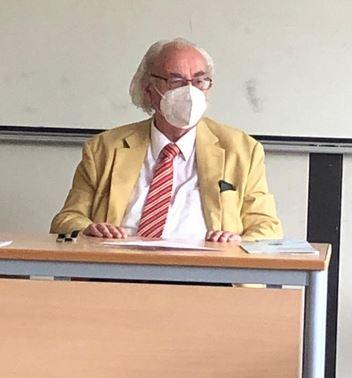 Erneuter besuch von Prof. Antes in der GOS