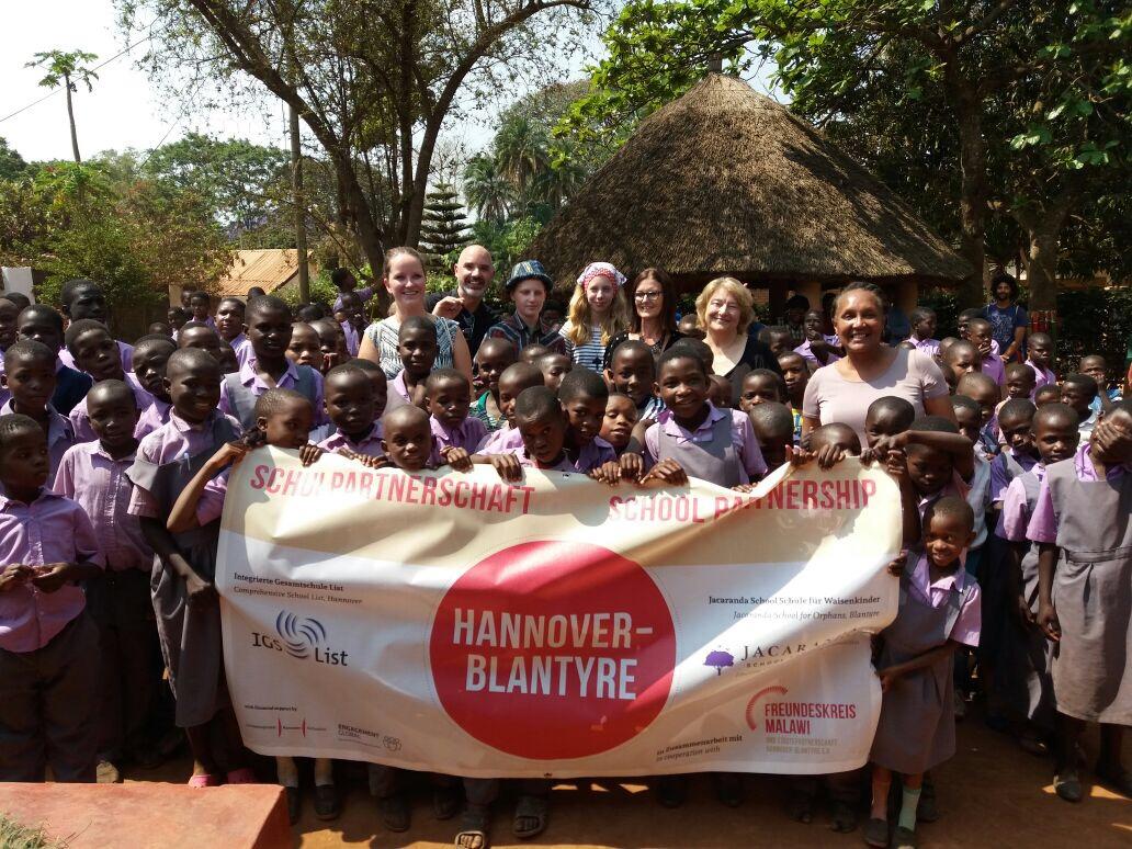 Delegation in Blantyre, Malawi
