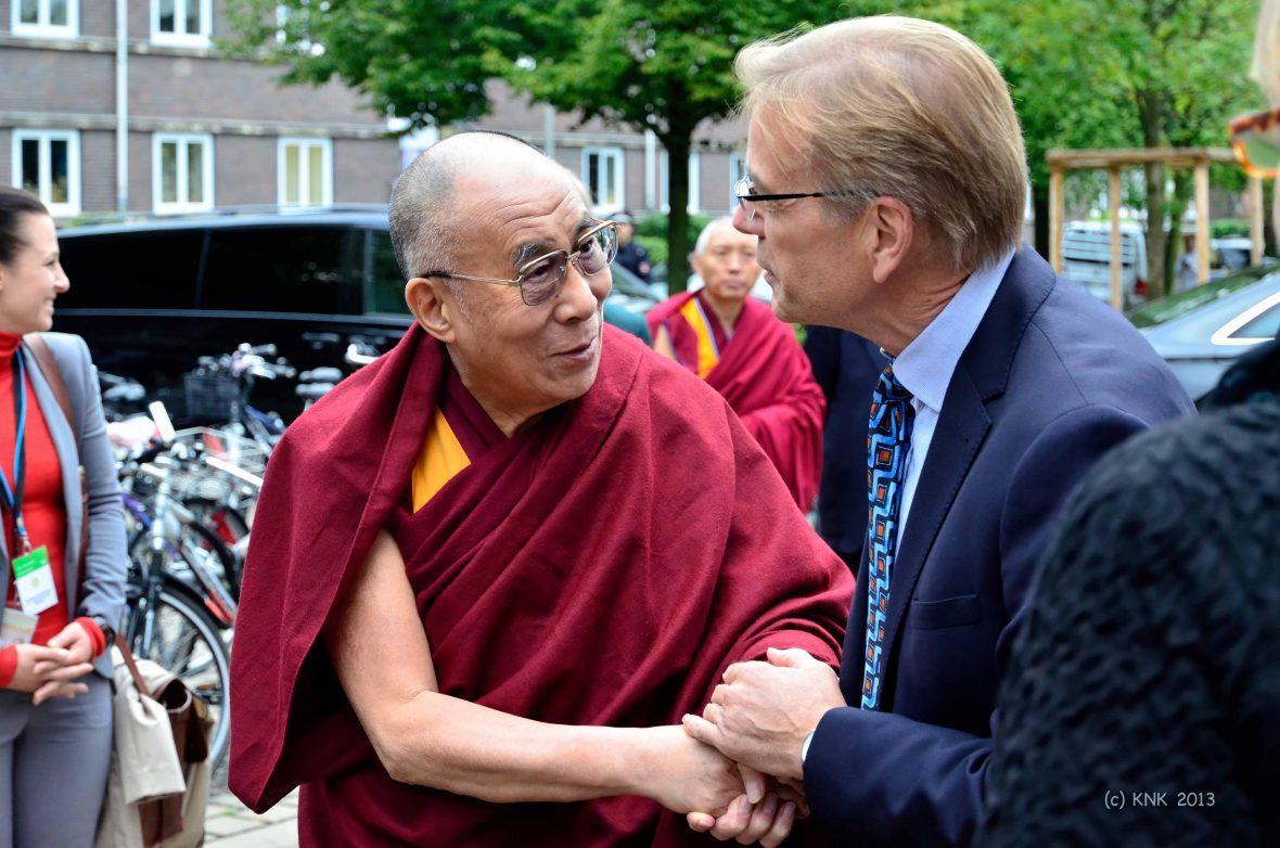 Der Dalai Lama besucht die IGS List